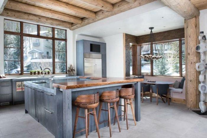 ▷ 1001 + designs et conseils pour la cuisine rustique parfaite ...