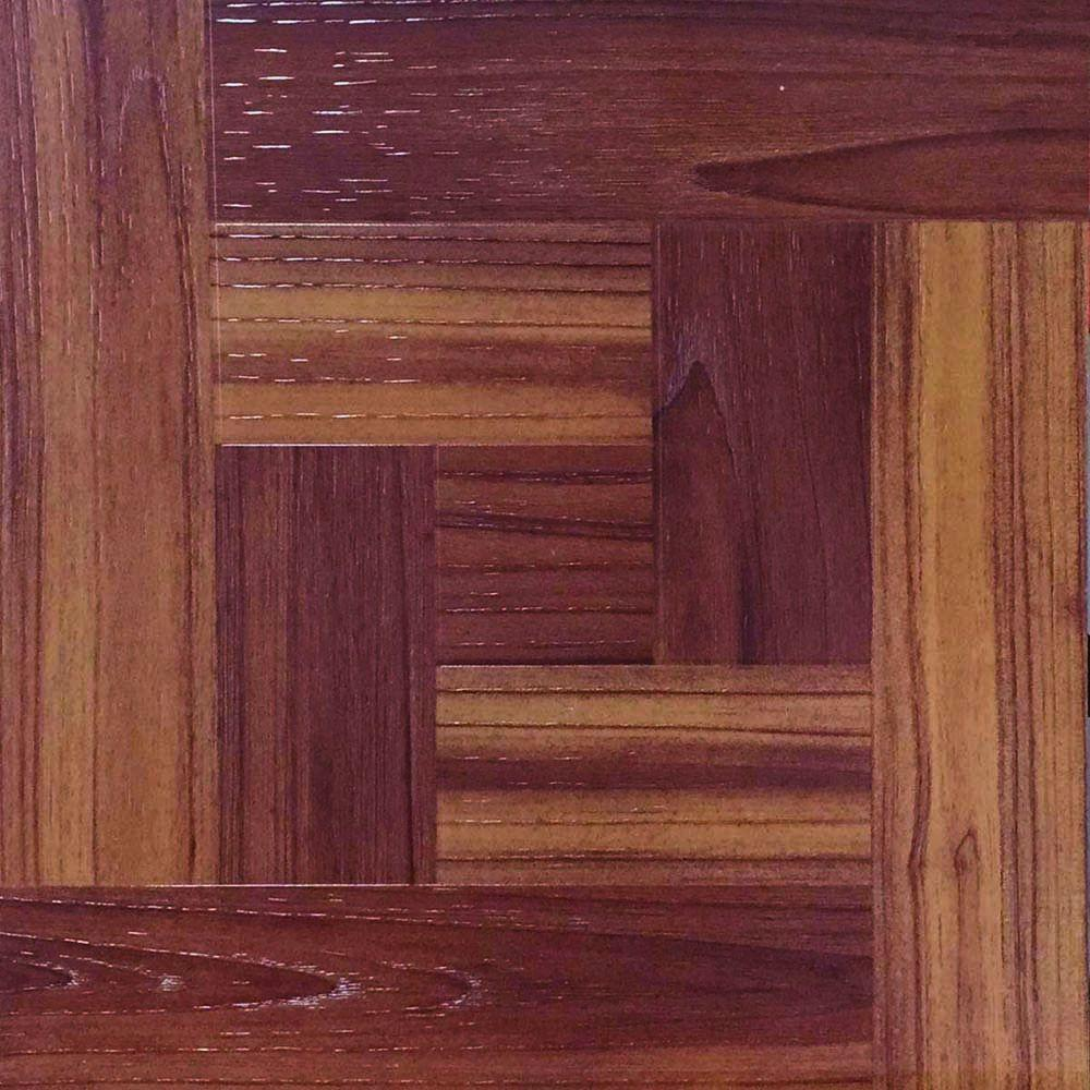 12 in x 12 in red oak parquet peel and stick vinyl tile flooring red oak parquet peel and stick vinyl tile flooring 30 sq ft case red oak parquetwood grain embossed dailygadgetfo Choice Image