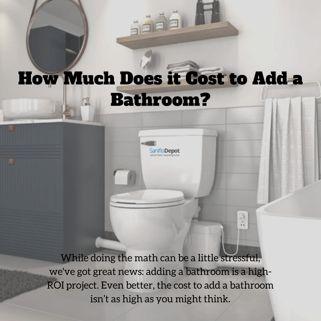 A Bathroom Remodel Or Addition Is Easier If You Don T Have To Rip Out Old Plumbing And Replace It With New Pl Add A Bathroom Basement Remodeling Guest Bathroom