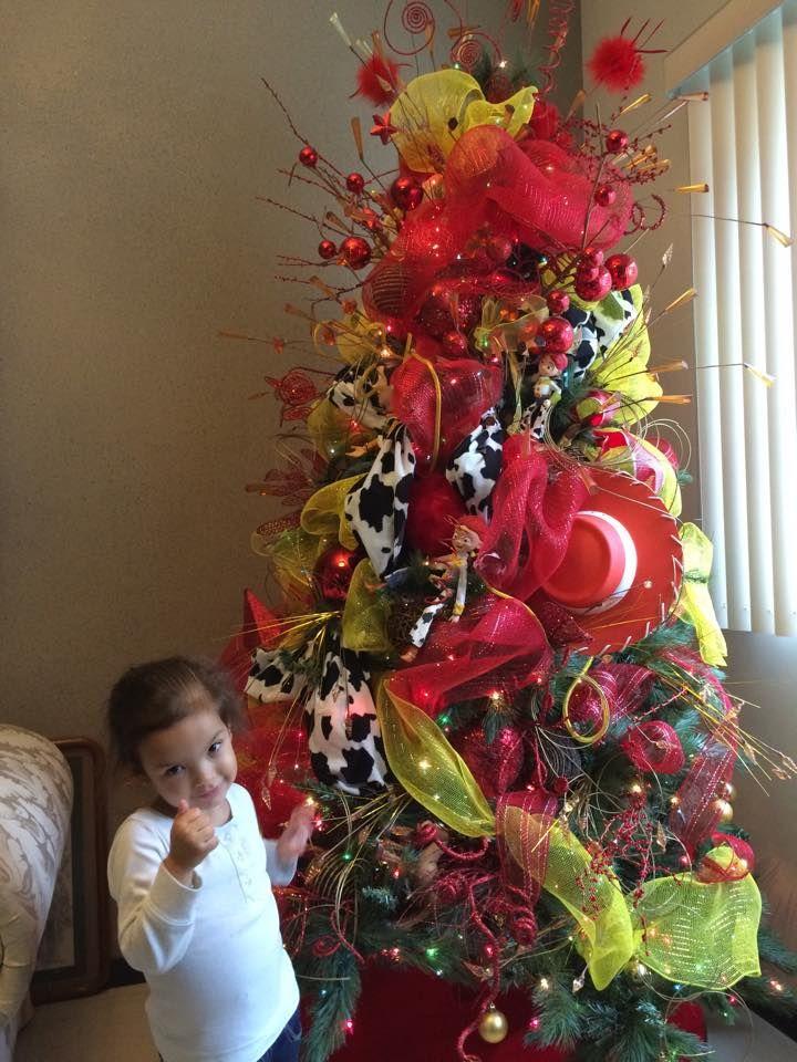 Pino de navidad infantil toys story - Arbol navidad infantil ...