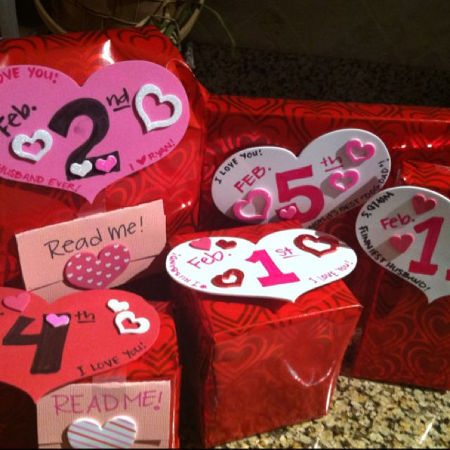 my husbands 14 days of i love you gifts for valentines day each - 14 Days Of Valentines For Him