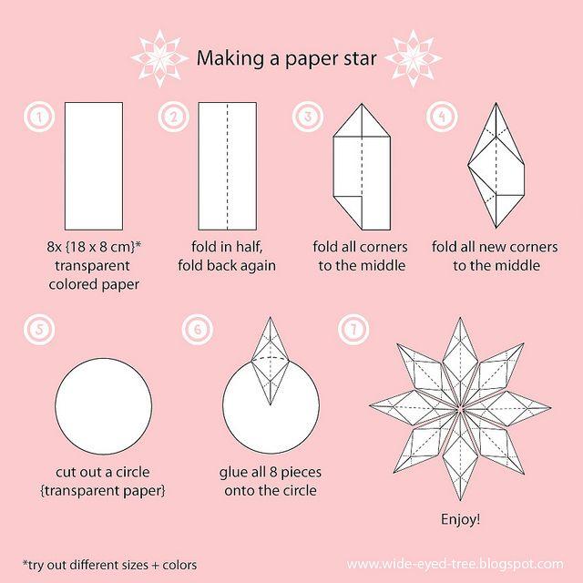 paper star tutorial   Flickr - Photo Sharing!