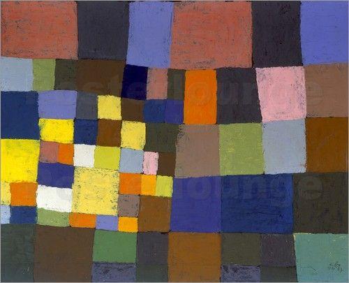 Paul Klee - Der blühende Garten