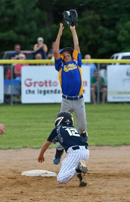 Milton 8 10 All Stars Fall Short In States Fall Shorts All Star Little League