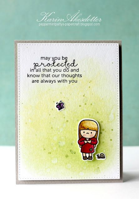 Peppermint Patty's Papercraft: May you be protected !