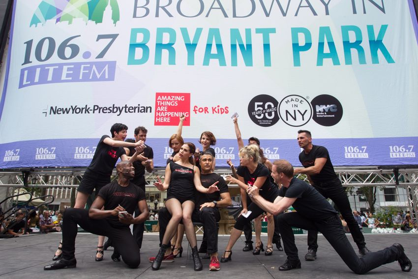 No need to pay big bucks for a show! If you want to sample snippets of the best, stop by Bryant Park and give your kids a taste of hit Broadway and Off Broadway