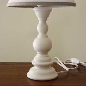 Pied De Lampe Romantique Support De Lampe En Bois Brut Pied De