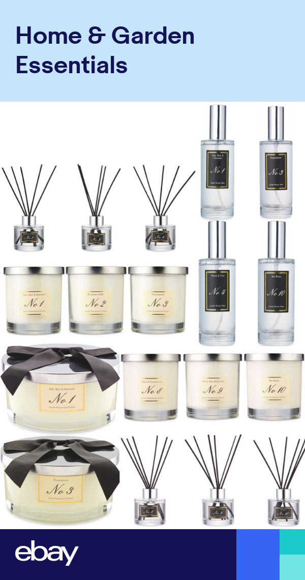 Fragranced Scented Aldi Luxury Candle Reed Diffuser