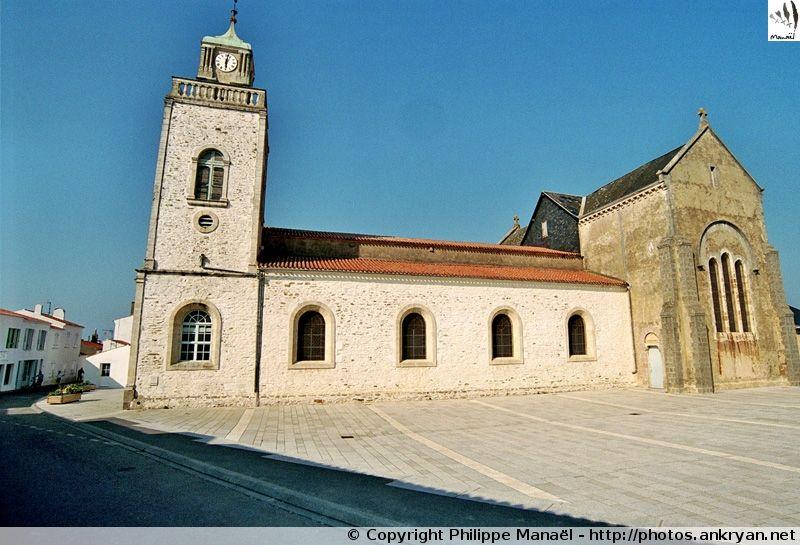 Eglise Notre Dame Du Port Ile D Yeu Ile Yeu Eglise Notre Dame Iles Du Ponant
