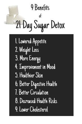 21 Day Sugar Detox Plan: Discover the many benefits that cutting sugar out of your diet for 21 days can have on your overall health! #sugardetoxplan