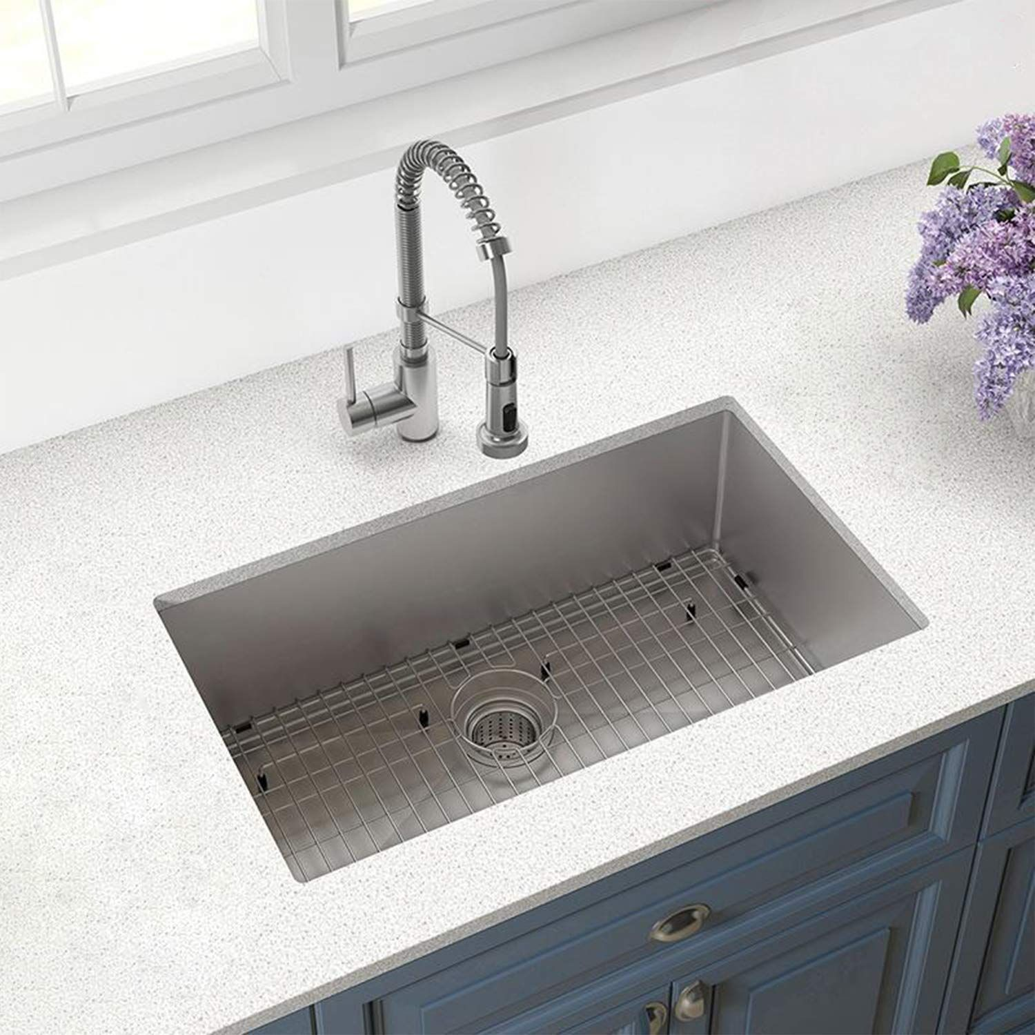 32 Inch Stainless Steel Kitchen Sink Undermount 10 Inch Deep Steel Kitchen Sink Stainless Steel Kitchen Sinks For Sale
