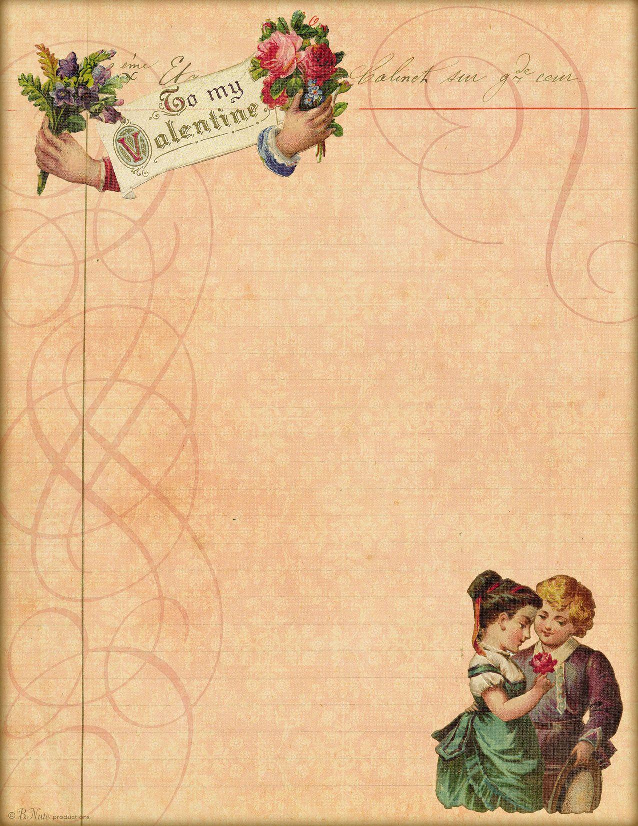 Ldr Love Letter Paper Letter Paper Lettering Vintage Paper