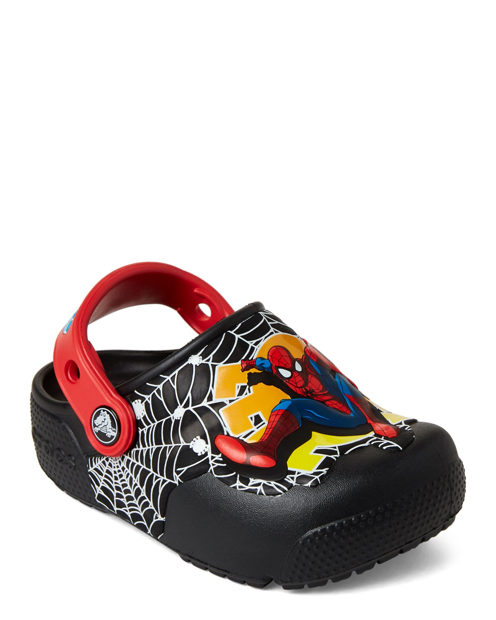 477a6a16c Infant/Toddler Boys) Black Fun Lab Spider-Man Light-Up Clogs in 2019 ...