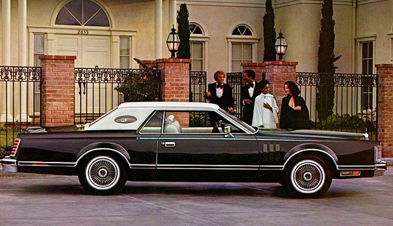 1977 Lincoln Continental Mark V Emilio Pucci Designer