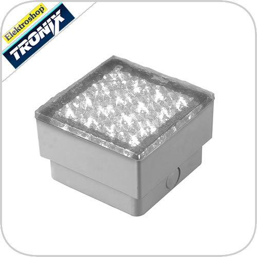 12v led verlichting wit grondspot inbouw straatsteen padverlichting vierkant 149 041