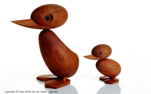 親アヒル & 子アヒル (Duck & Duckling): デザイナーズ家具・インテリアの通販 hhstyle.com
