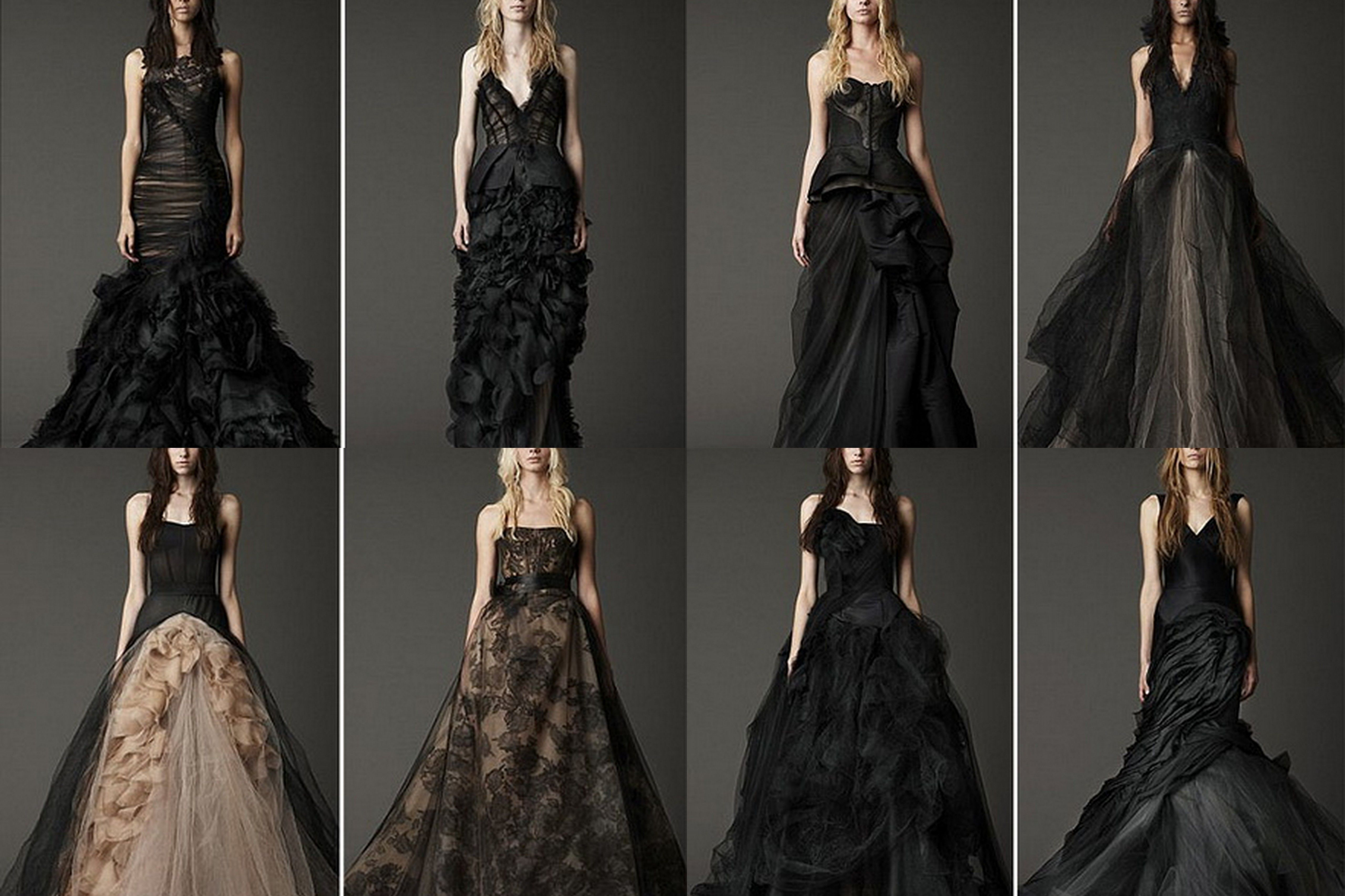 Vestdios negros Vera Wang   Black tie   Pinterest   Vera wang, Negro ...