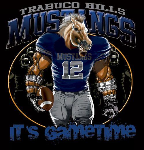 118fd0939cb Mustangs Game Time Football Tshirt Tee | Color Creek Chattanooga, TN ...