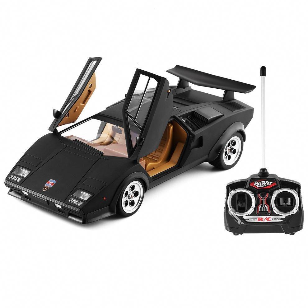1 14 Scale Fashion Cool Children Automobile Rc Toy For Lamborghini Wolf Countach Lp500s Radio Remote C Remote Control Cars Car Model Radio Controlled Boats