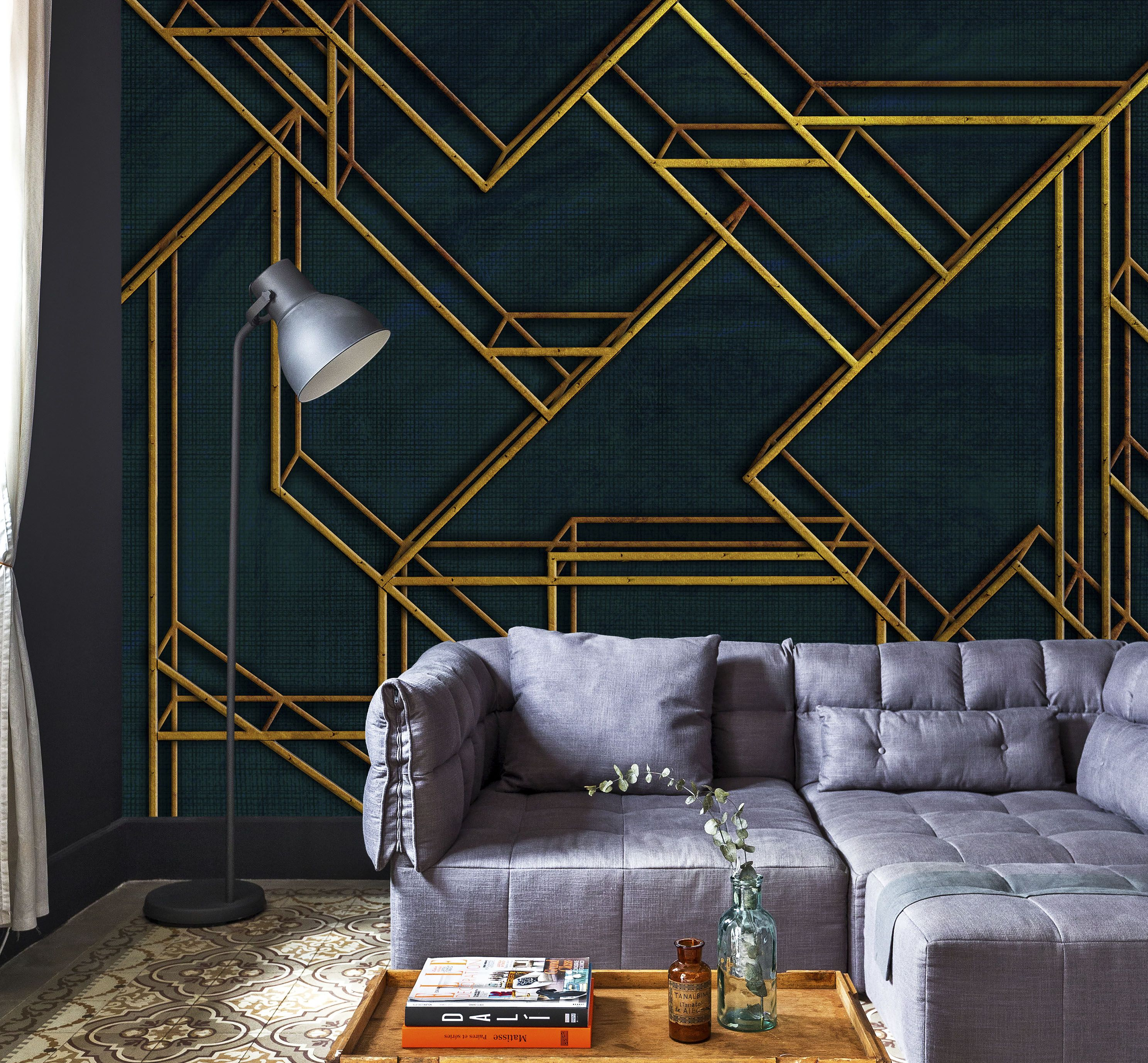 Geometric Wall Mural Reference 6800207 Non Woven Thanks To