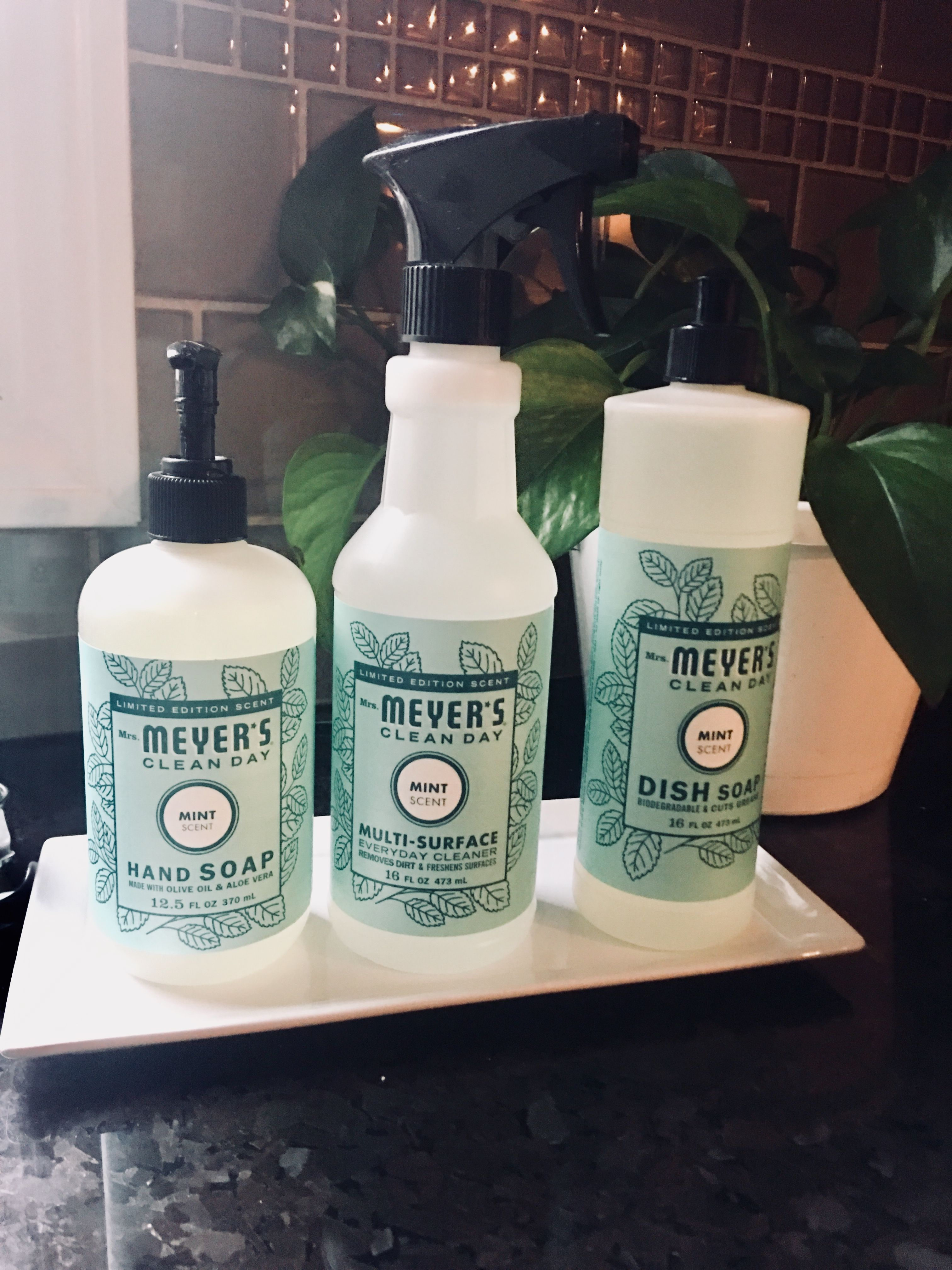 Mrs Meyer S Limited Edition Mint Fresh Light Scent Natural