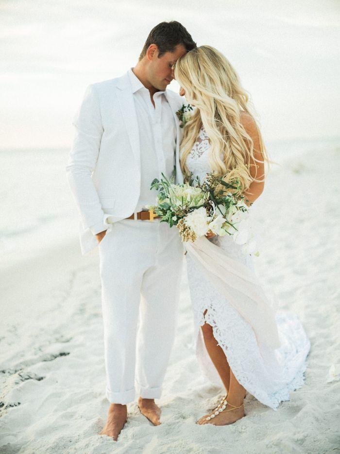 Boho Beach Wedding At La Playa Beach And Golf Resort With Images