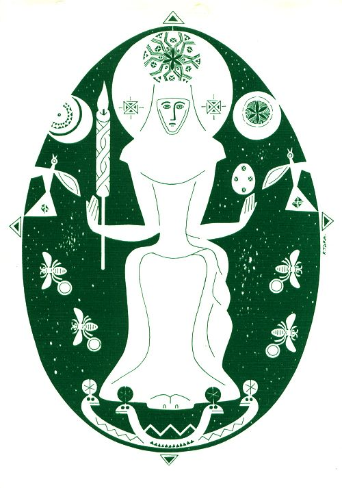 Lithuanian Goddess | Goddesses, Lithuania and Culture travel