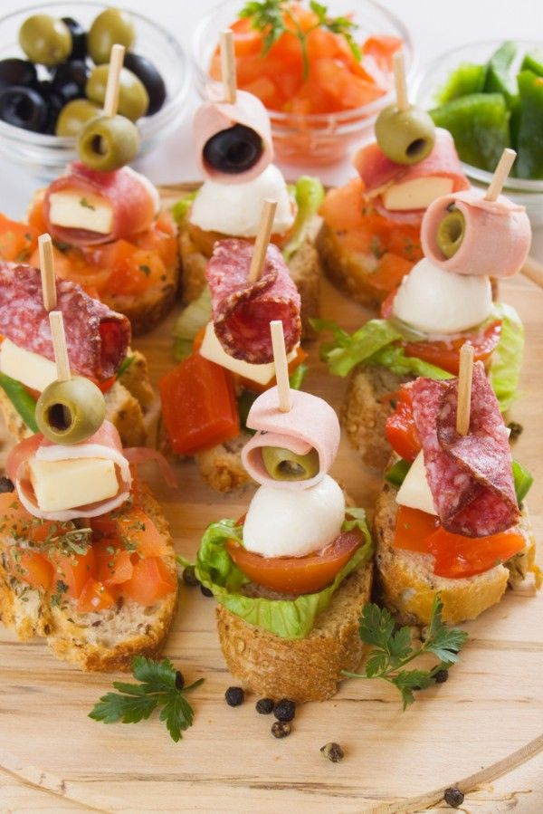 Apero Dinatoire Mode Demploi Idee Alimentari Pane Baguette Stuzzichini