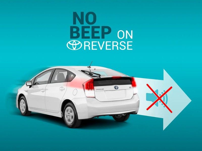 How To Disable The Reverse Beep In A Toyota Prius Toyota Prius