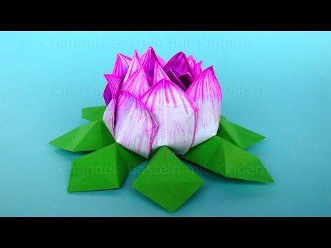 Origami lotus how to make an origami lotus flower easy paper origami lotus how to make an origami lotus flower easy paper flower tutorial mightylinksfo
