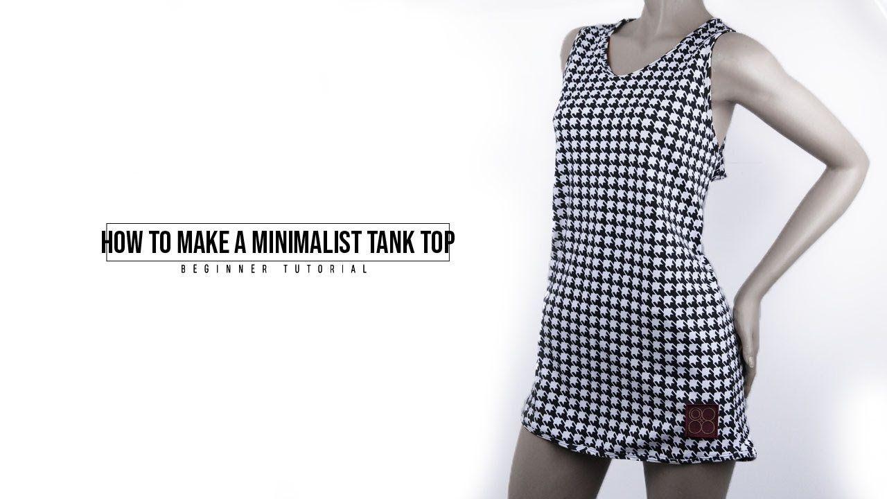 How To Make A Tank Top Tank Tanktop Top Fashion Summer Look Handmade Diy Sewing Dress Fashion Minimalist Tank Top Tank Tops [ 720 x 1280 Pixel ]