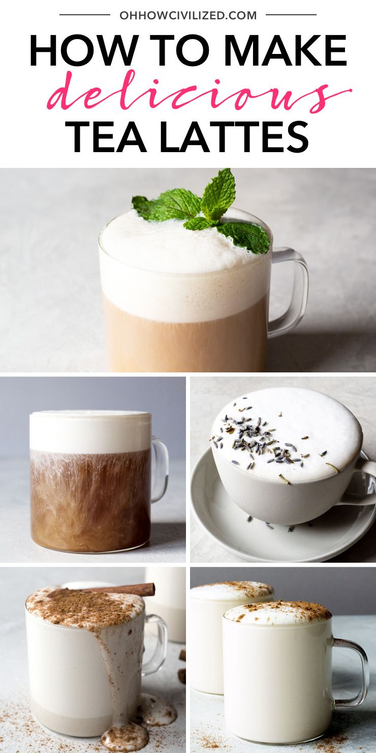How to make a tea latte recipe tea recipes how to