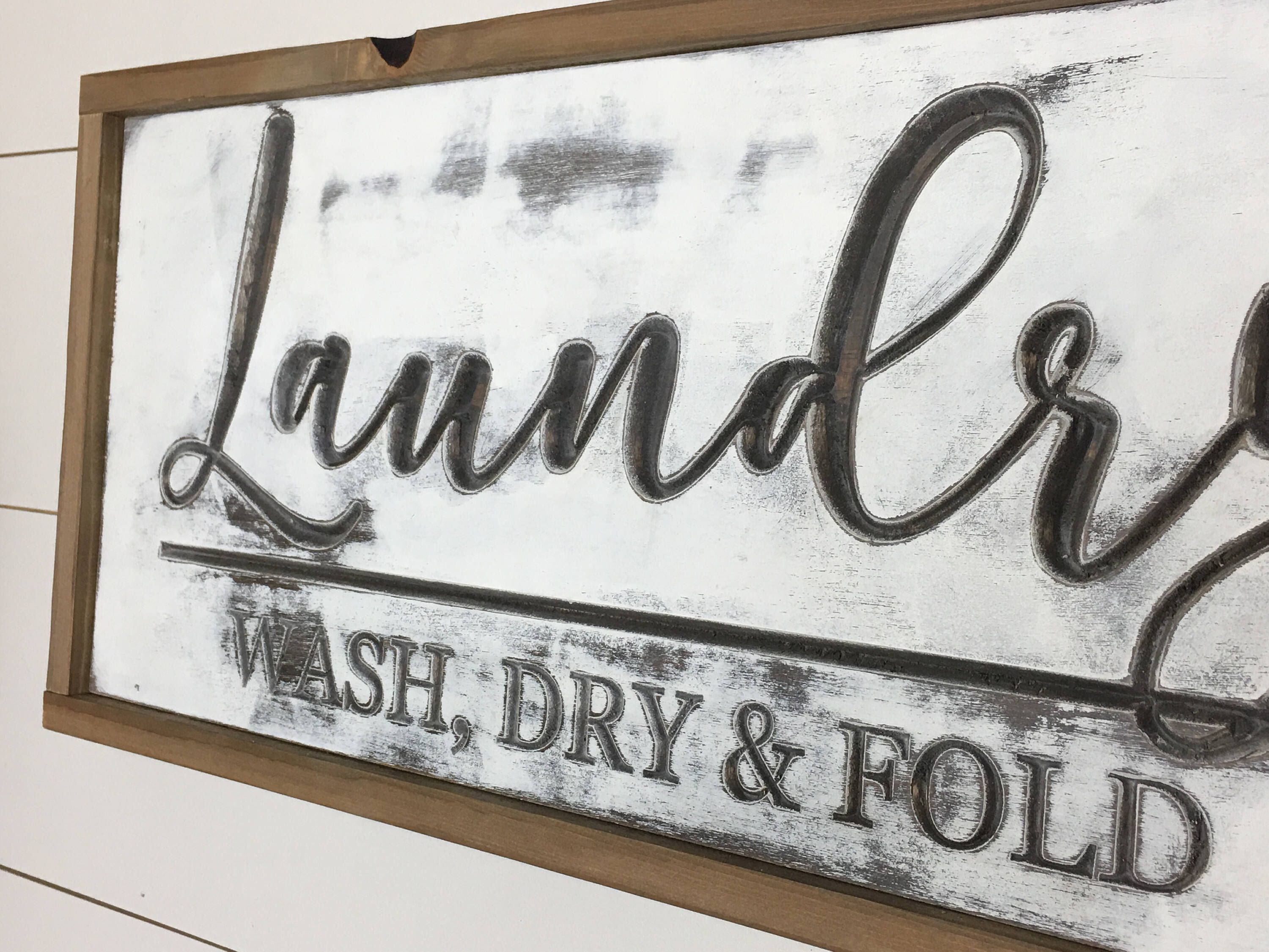 Laundry And Co Sign Laundry Cosign Laundry Room Sign Laundry Room Decor Framed