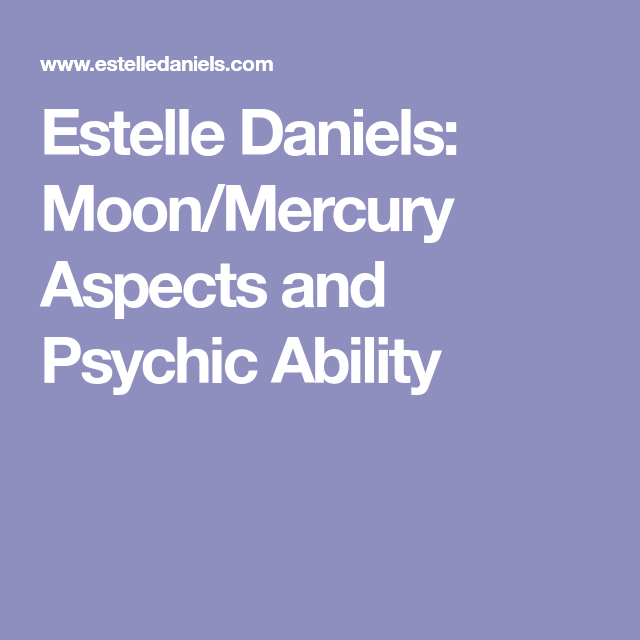 psychic astrological aspects