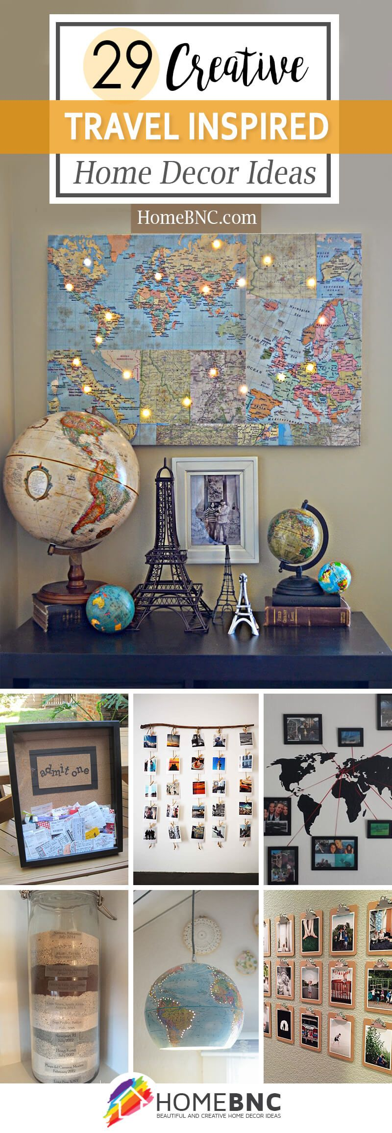 29 Fun Travel Inspired Home Decor Ideas To Bring A Feeling Of Wanderlust To Your Home Travel Decor Travel Inspired Inspired Homes