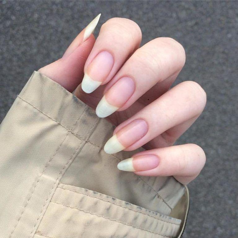 Artful Nakie Bare Manicure Unhas Compridas Unhas Compridas Naturais Unhas Naturais