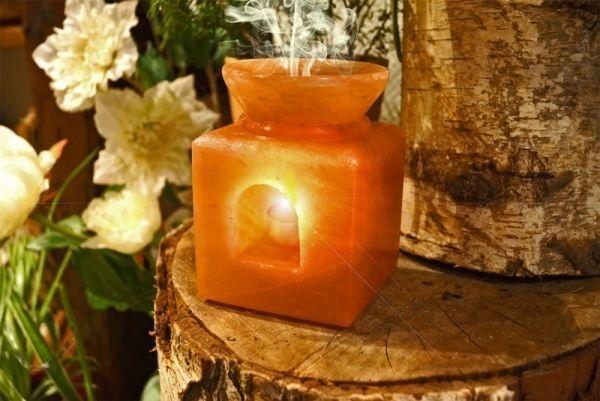 Salzkristall Duftlampe Aroma Teelicht Kerze Duftol Kristall Salzkristalle Duftlampe Lampen