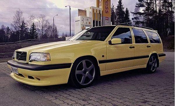 Good Looking Yellow 850 Wagon