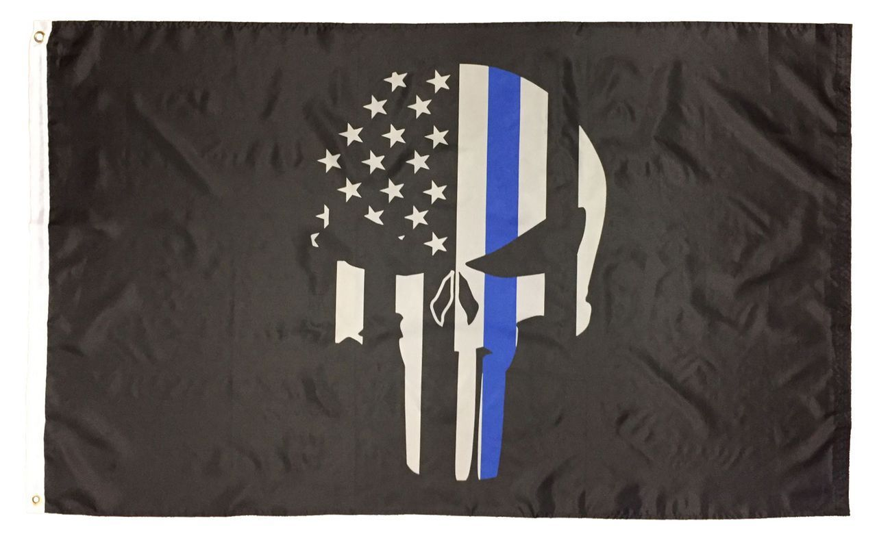 Pin By I America S Flag S On Police Punisher 3x5 Flag