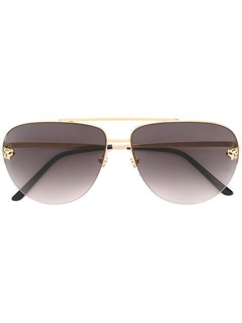 d3dbb687bbd4 Shop Cartier  Panthère  sunglasses in André Opticas from the world s best  independent boutiques at