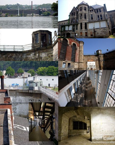 abandoned prison in pittsburgh pennsylvania western penitentiary is over a century old and was. Black Bedroom Furniture Sets. Home Design Ideas