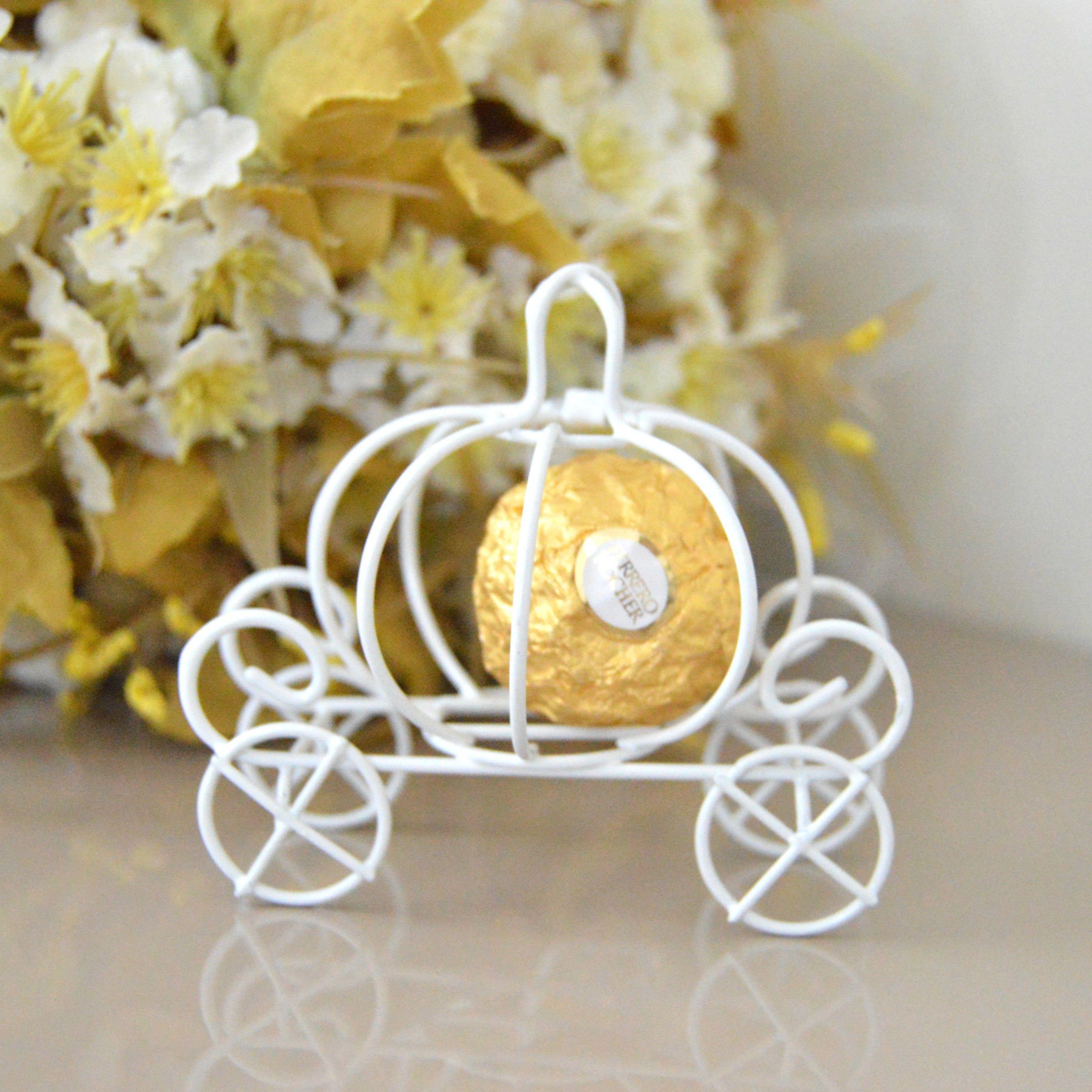 Cinderella Pumpkin Carriage Wedding Favor Box Idea Pumpkin Wedding