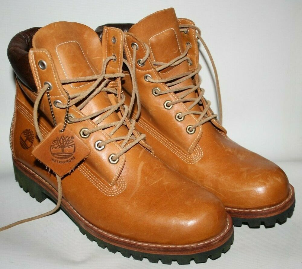 New Timberland Earthkeepers Heritage Rugged Men 039 S Boots Leather 5901r Size 10m Leather Boots Boots Men Boots
