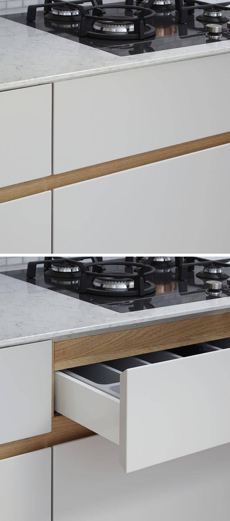 Kitchen Design Idea - Cabinet Hardware Alternatives | Küche