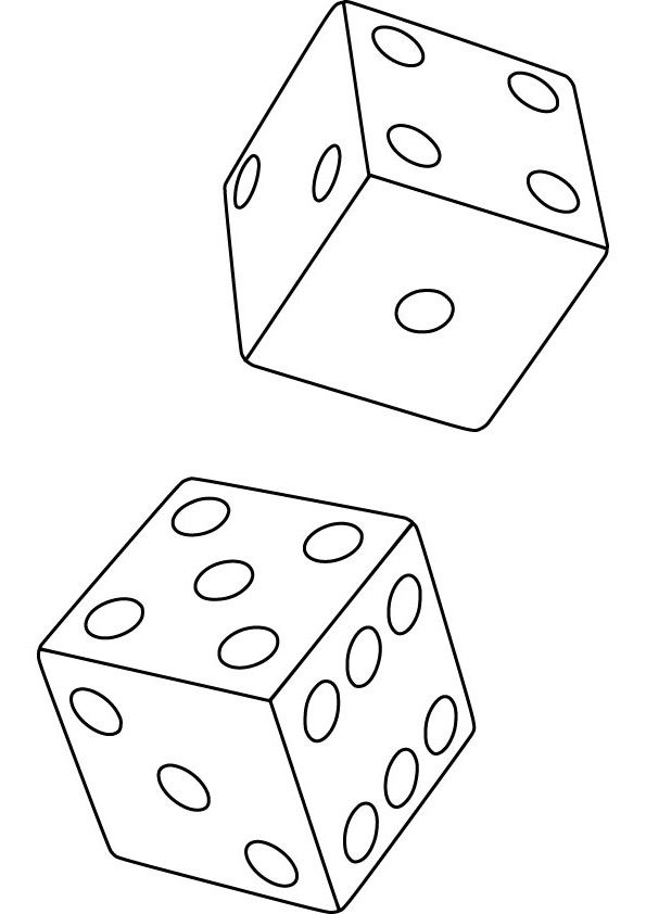 clue board game coloring pages   die coloring picture for free....tons of categories ...