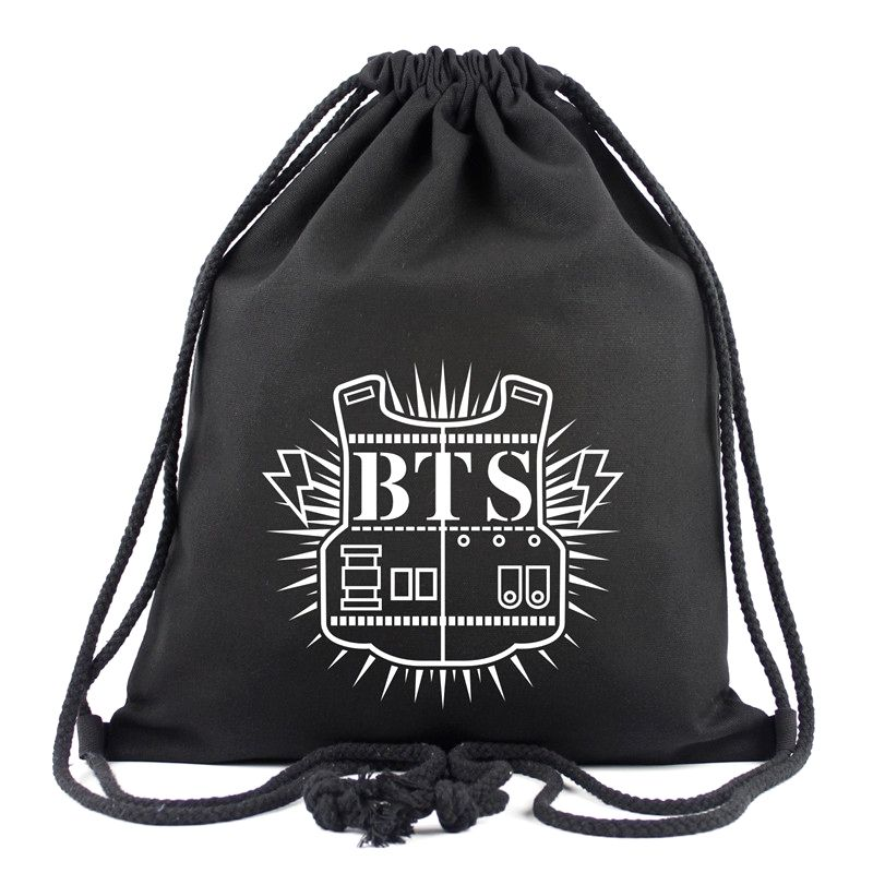 Best BTS Drawstring Bag All Members (With images) | Bts bag, Bts backpack, Unisex bag