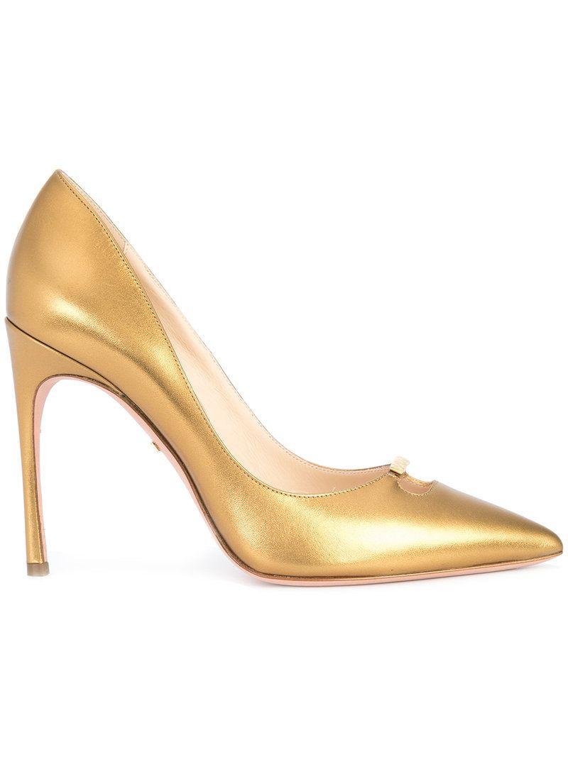 Michelle stiletto pumps - Metallic Kendall Miles hrHaoPXJ