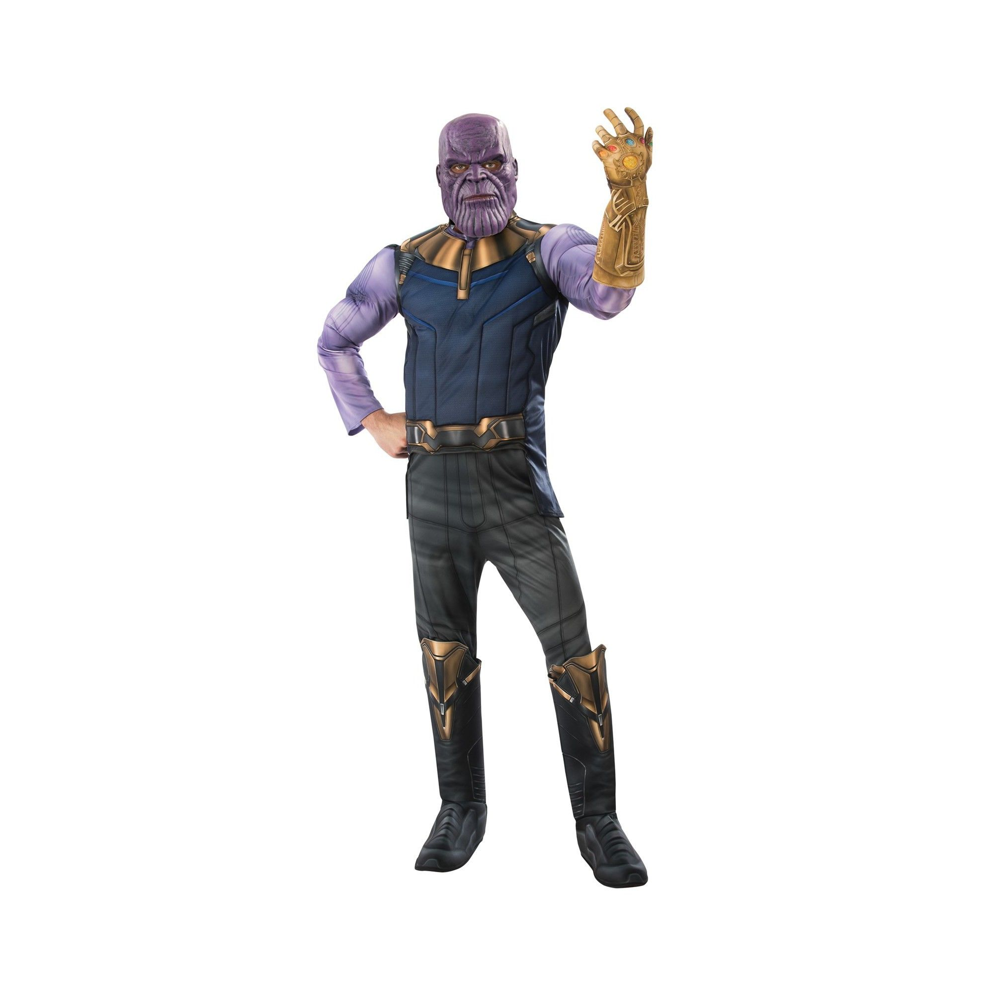 Men\u0027s Marvel Avengers Infinity War Thanos Halloween Costume