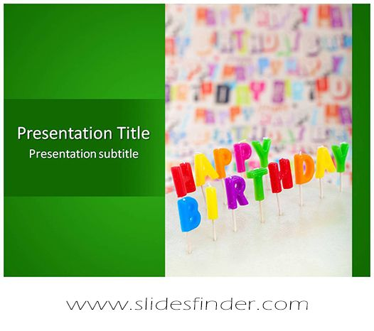 create effective happy birthday #ppt #presentation with our #free, Powerpoint templates