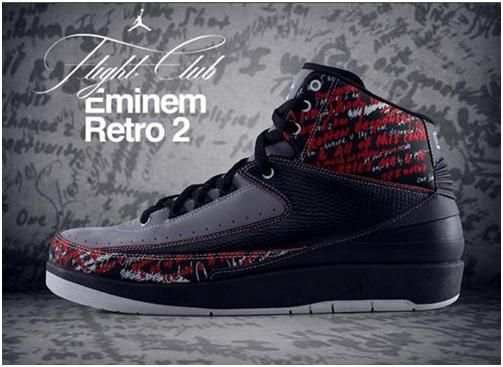 cfbcfde83fcbfd Eminem Retro 2 Original Air Jordans